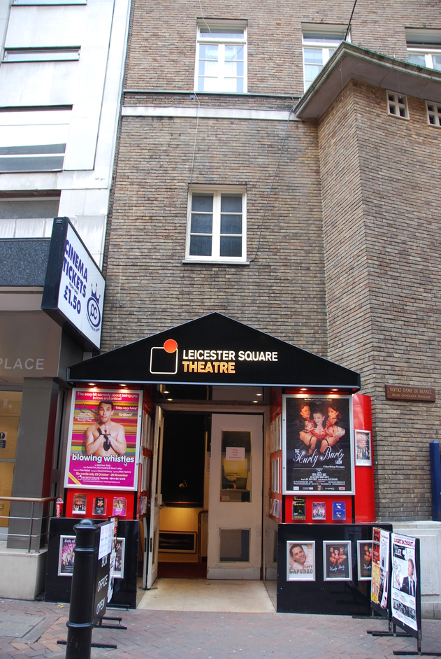 Leicester Place - Leicester Square Theatre Exterior