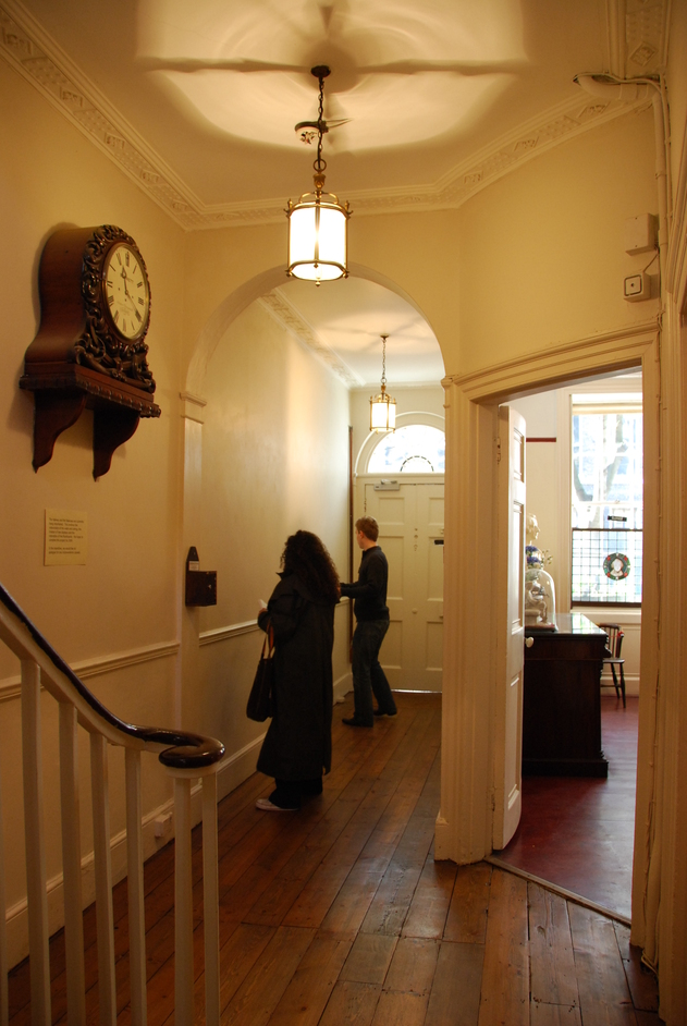 Charles Dickens Museum - Hallway Of The Charles Dickens Museum