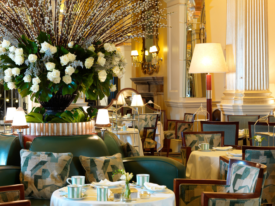 Foyer And Reading Room London : Claridge s afternoon tea images mayfair london
