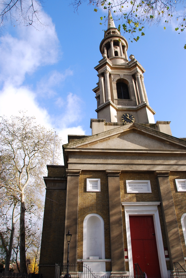 Tower Hamlets - St Paul's Shadwell.  The Church Of Sea Captains