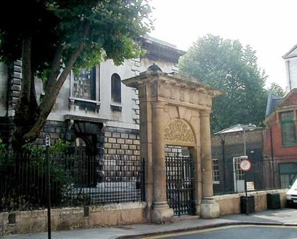 Denmark Street - Resurrection gate of 1800