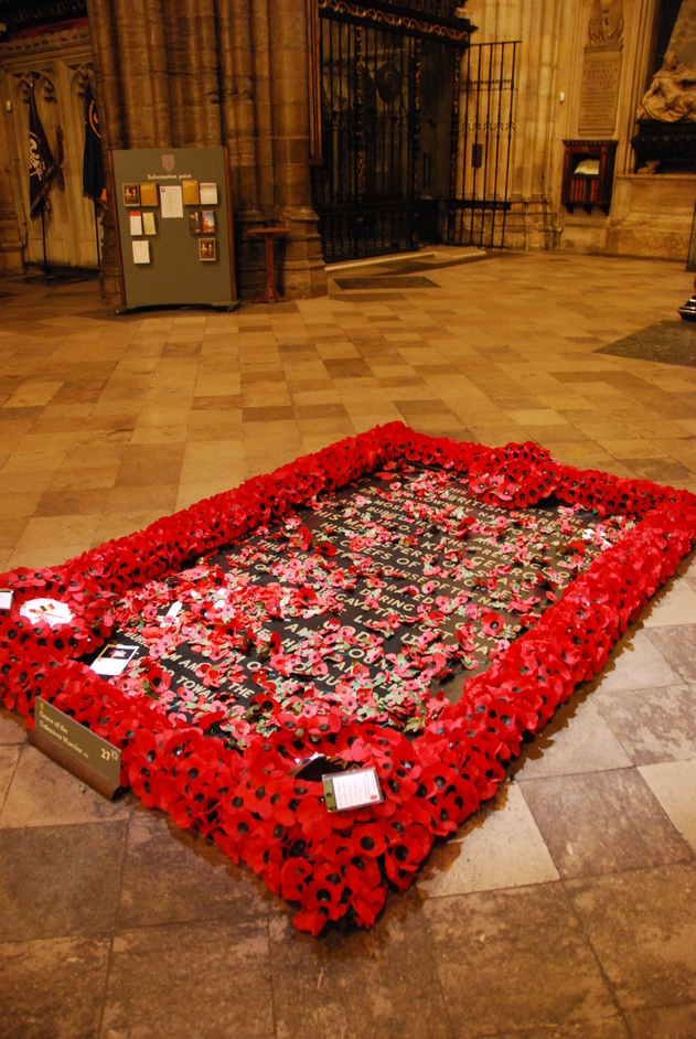 Westminster Abbey - Unknown Warrior Grave Inside Westminster Abbey