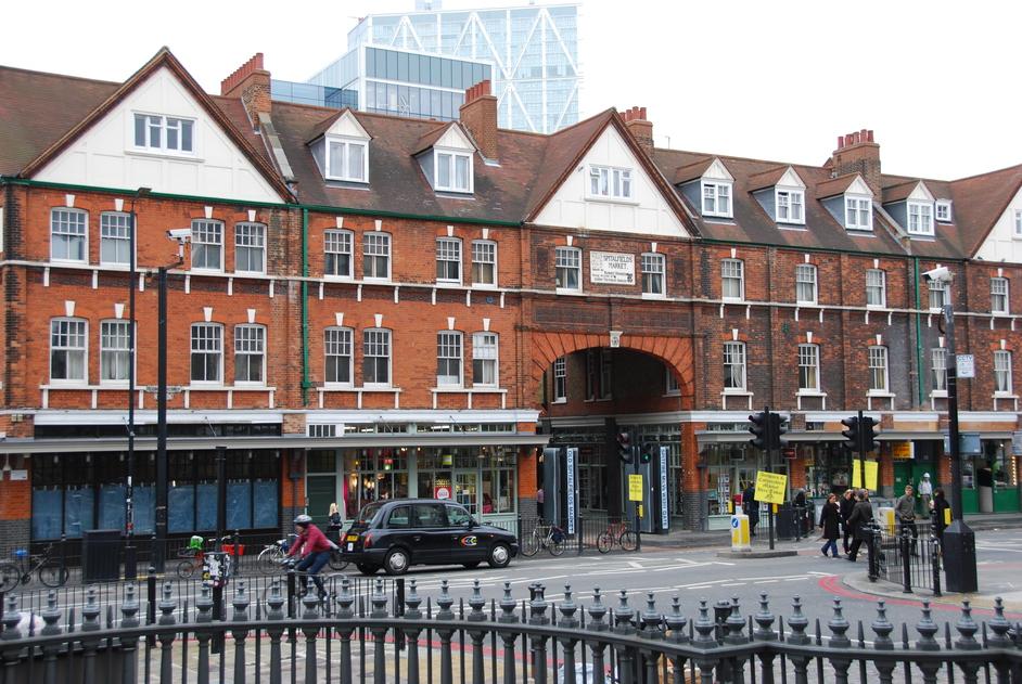 Lamb Street - Exterior Of Spitalfields Market