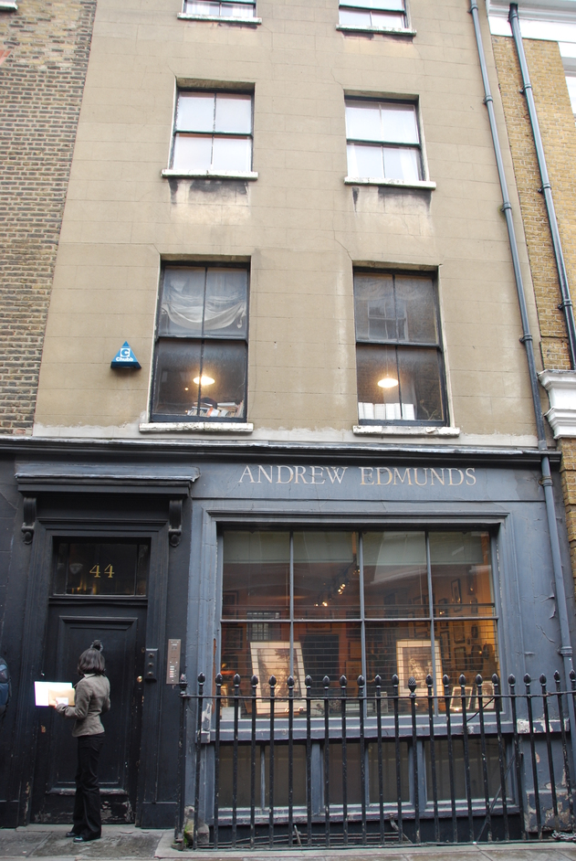 Andrew Edmunds Lexington Street London
