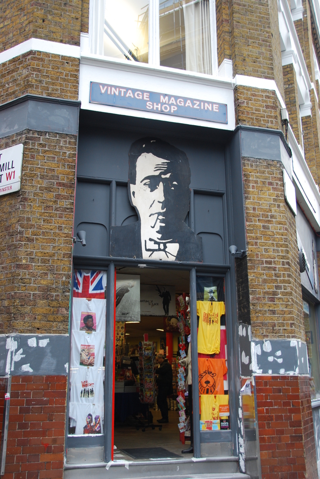 Vintage Magazine Store, Brewer Street, London | Shopping ...