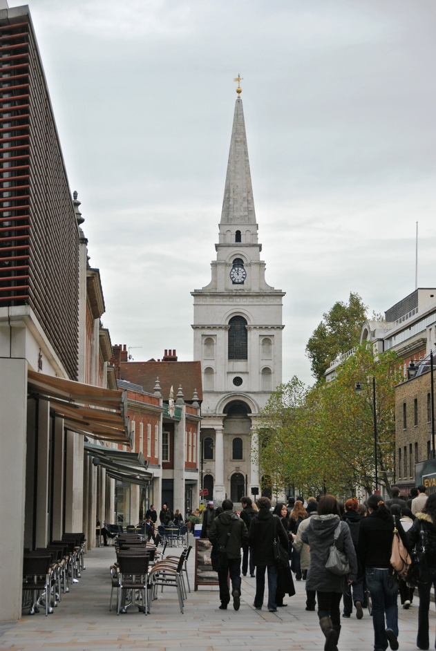 Christ Church Spitalfields - View Of Christ Church
