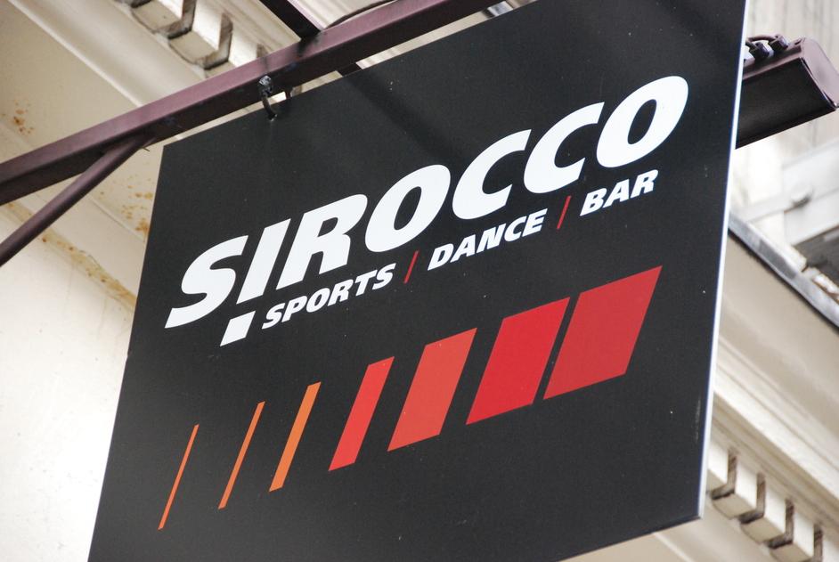 Sirocco Bar - Sirocco Sign