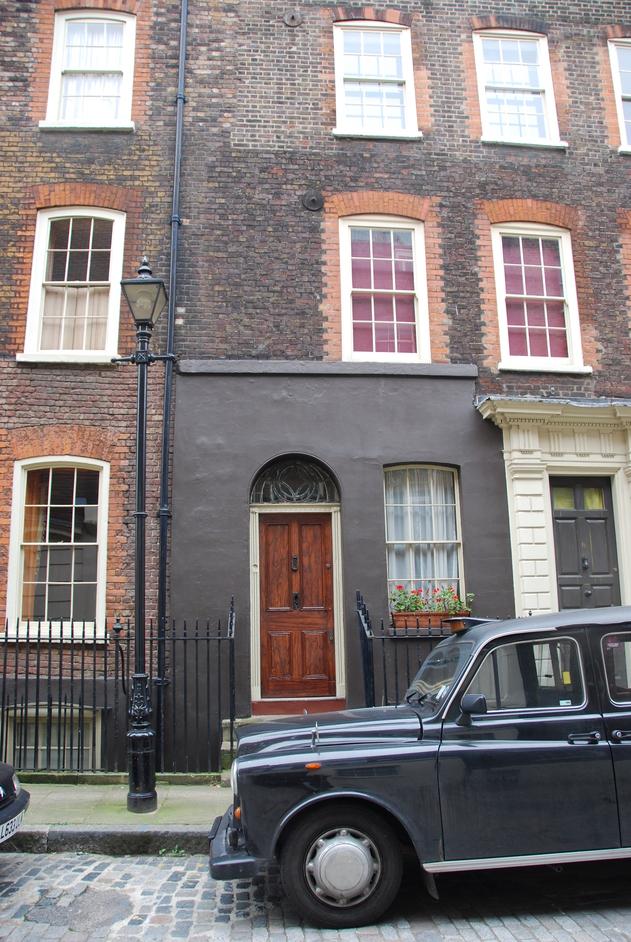Lamb Street - 18th Century Houses Outside Spitalfields Market