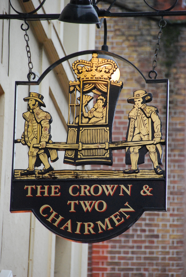 Crown and Two Chairmen - The Crown & Two Chairmen Pub Sign