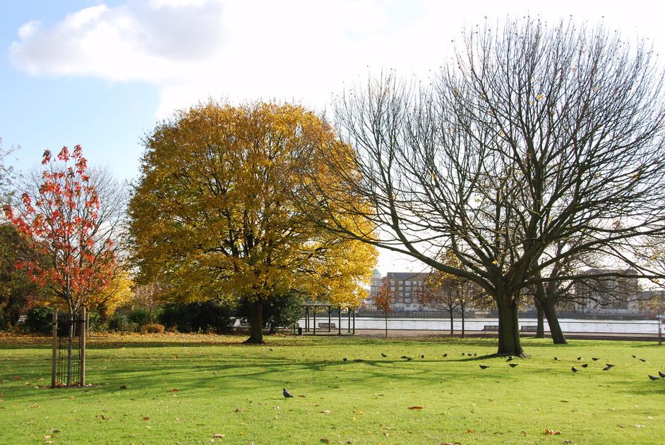 King Edward VII Memorial Park - Edward VII Memorial Park In Shadwell