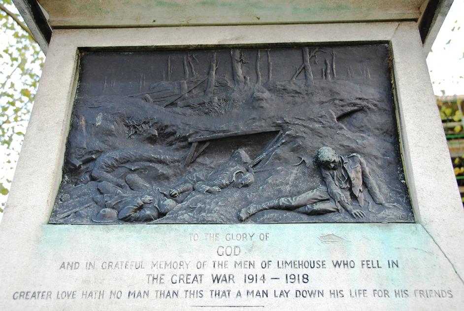 St Anne's, Limehouse - St Anne's Limehouse War Mermorial