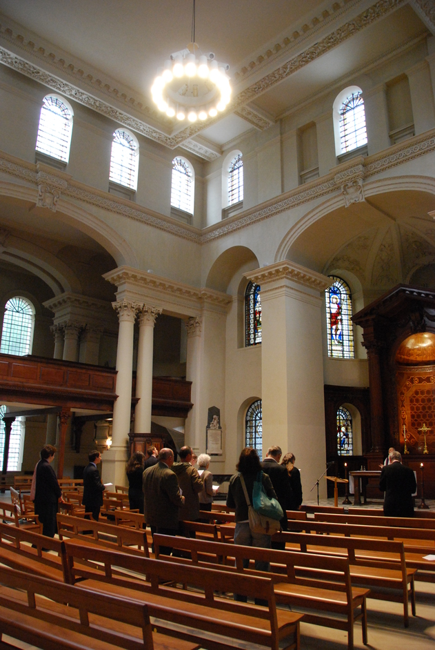 St George's Church - St George's Bloomsbury Interior