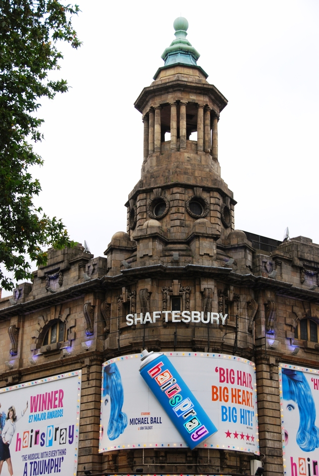Shaftesbury Theatre - Exterior Of The Shafesbury Theatre