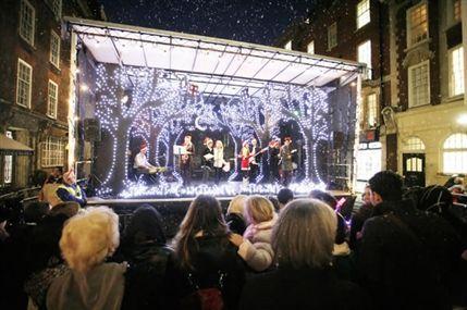 Marylebone Christmas Lights