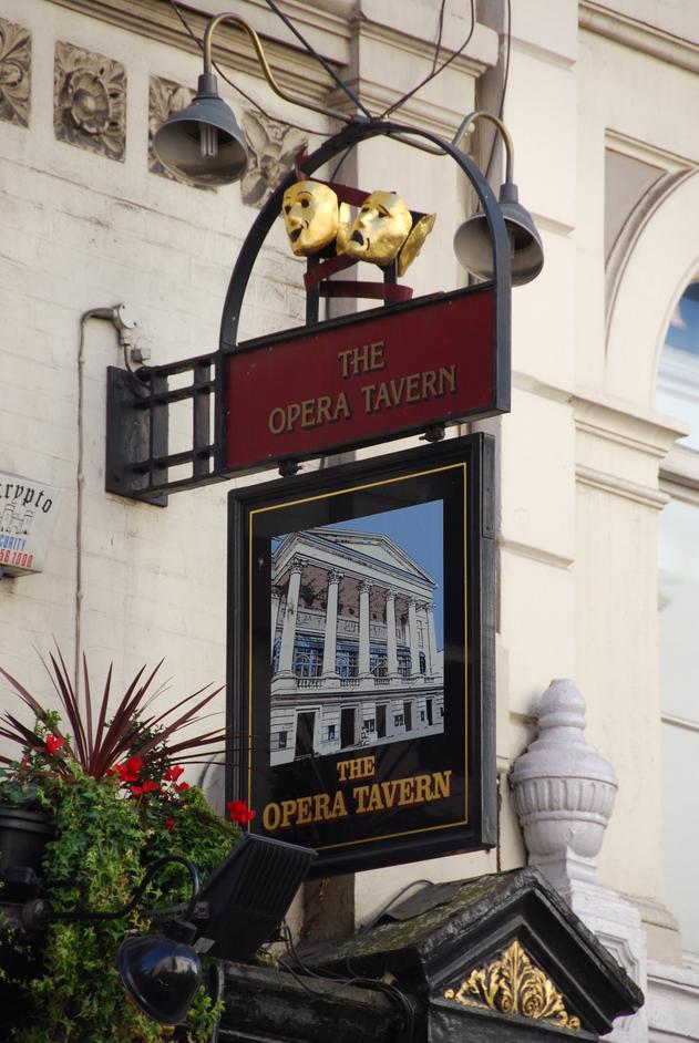 Tavistock Street - Opera Tavern Exterior