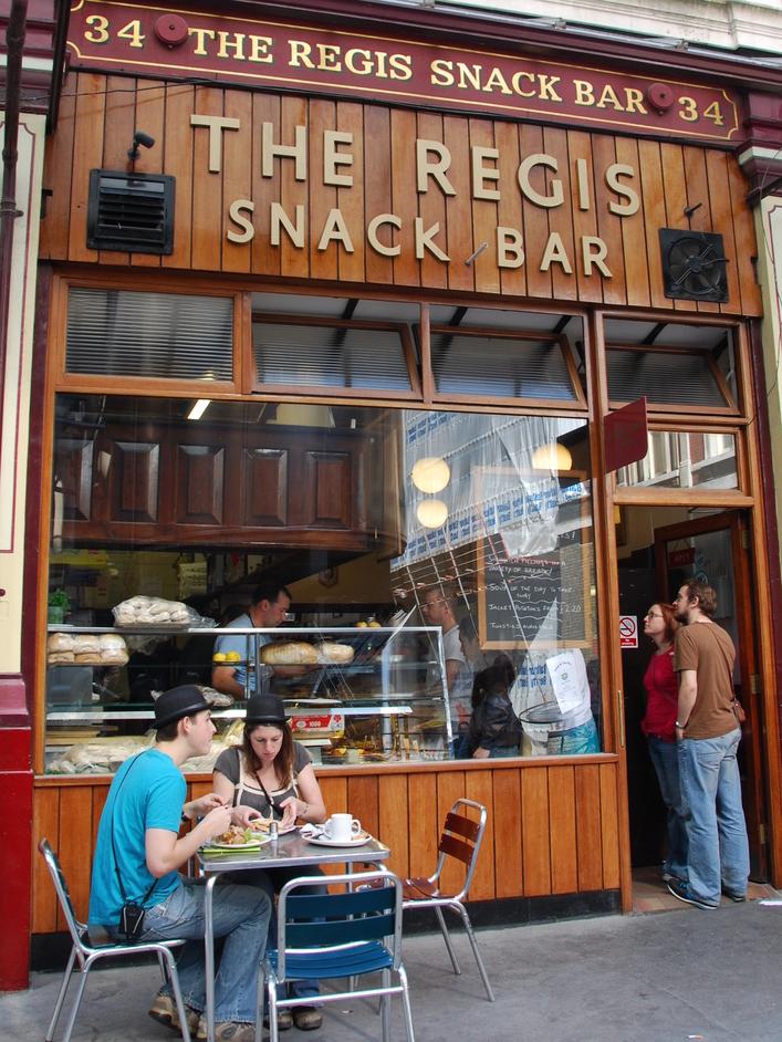 Leadenhall Market - Snack Bar In Leadenhall Market