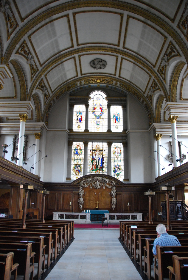 St James's Church Piccadilly - St James's Interior