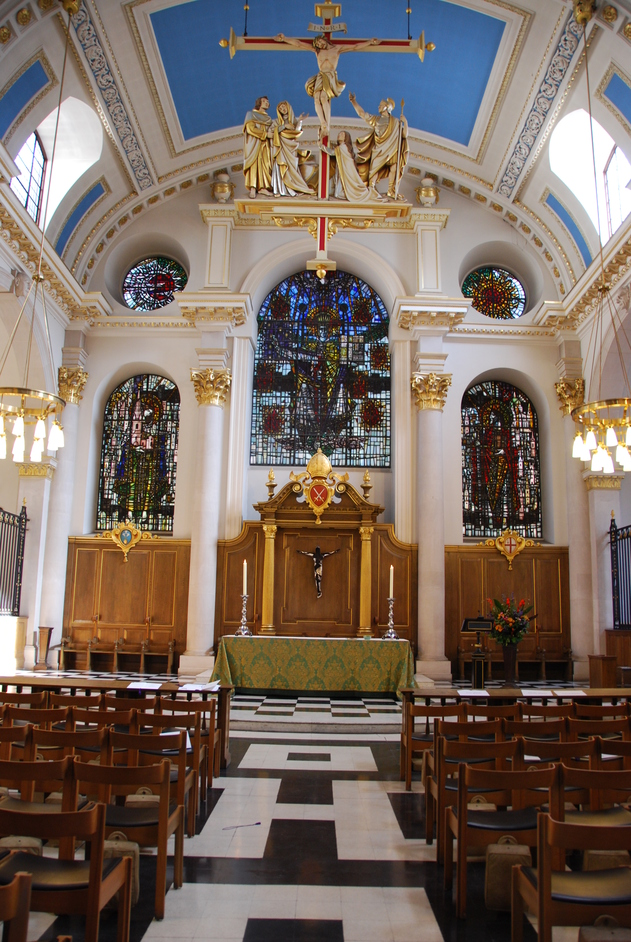 Bread Street - St Mary Le Bow Interior