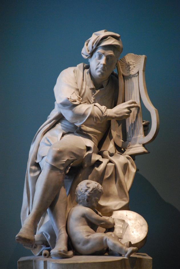 Victoria and Albert (V & A) Museum - V&A Handel Statue