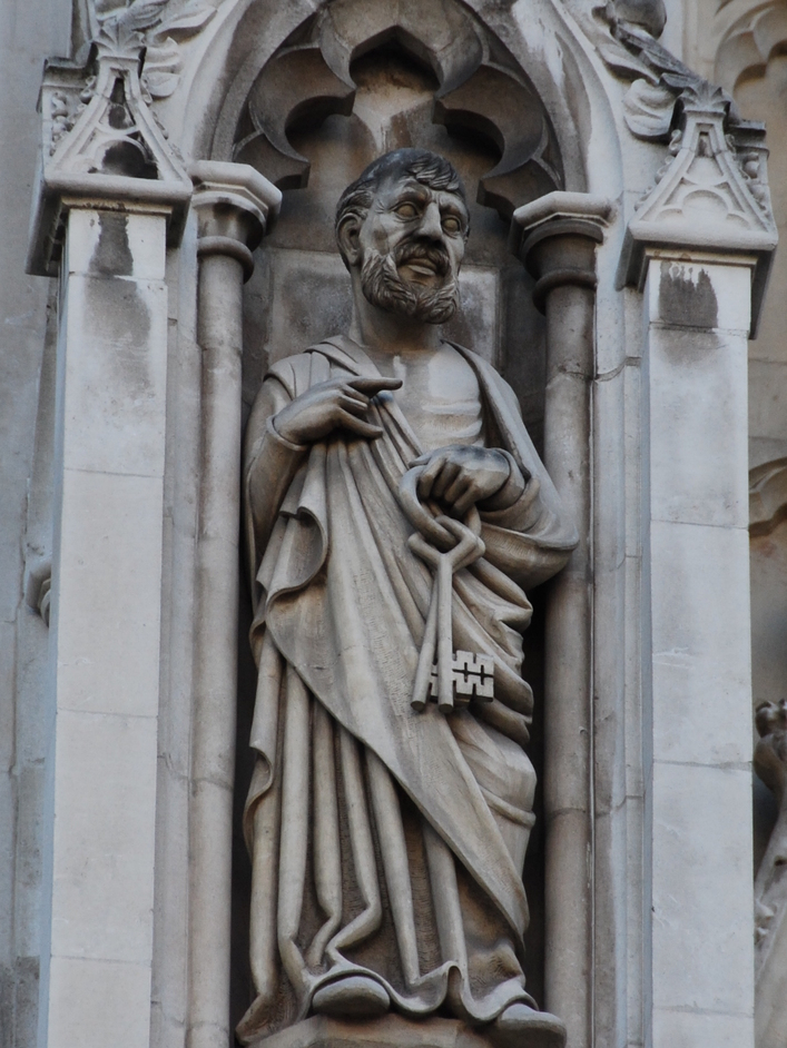 Westminster Abbey - Westminster Abbey St Peter Figure