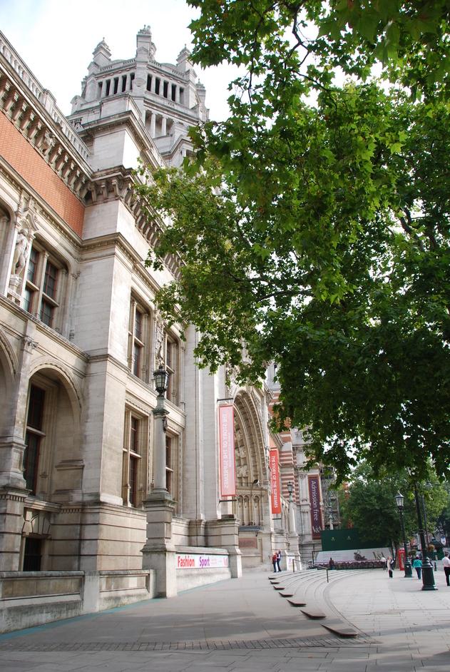 Victoria and Albert (V & A) Museum - V&A Exterior
