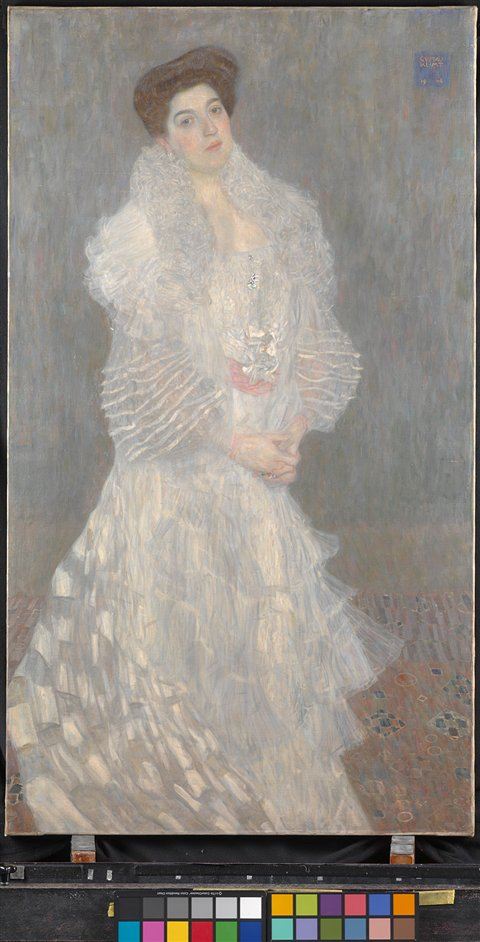 The Portrait in Vienna 1867-1918 - Gustav Klimt, Portrait of Hermine Gallia, 1904 � The National Gallery, London