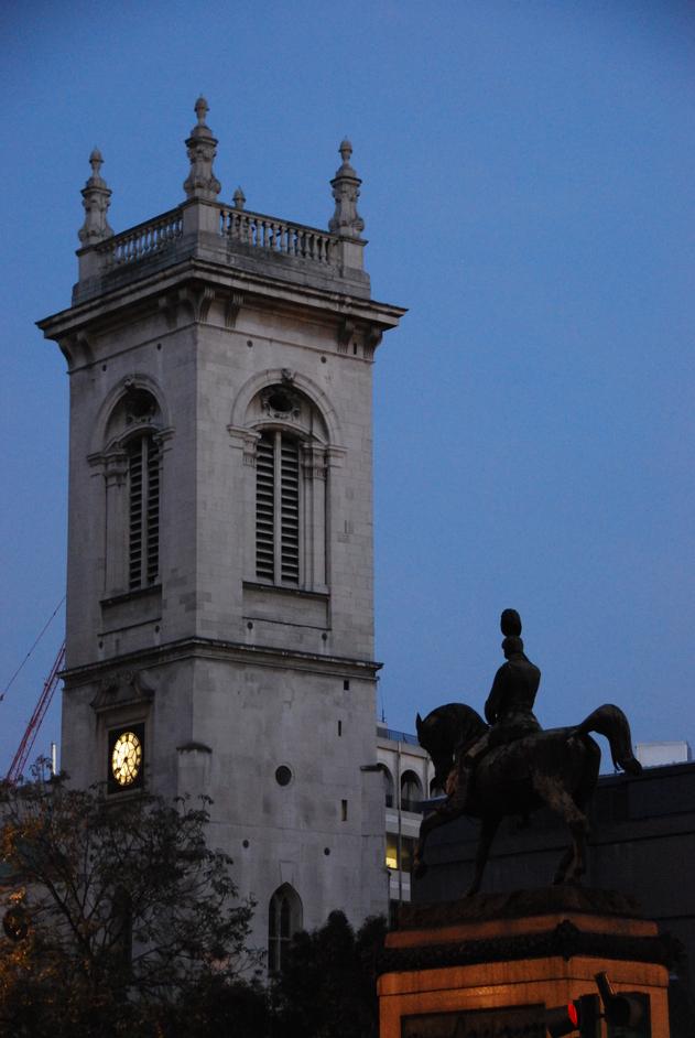 St Andrew (Holborn) Ltd - Evening Shot Of St Andrew Holborn