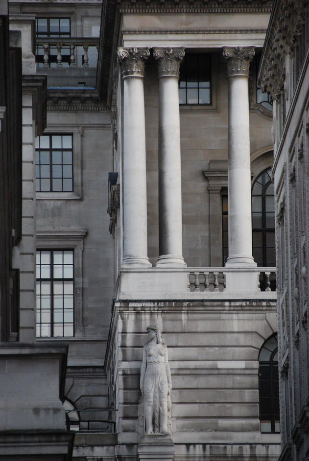 Bank of England - The Bank of England Exterior