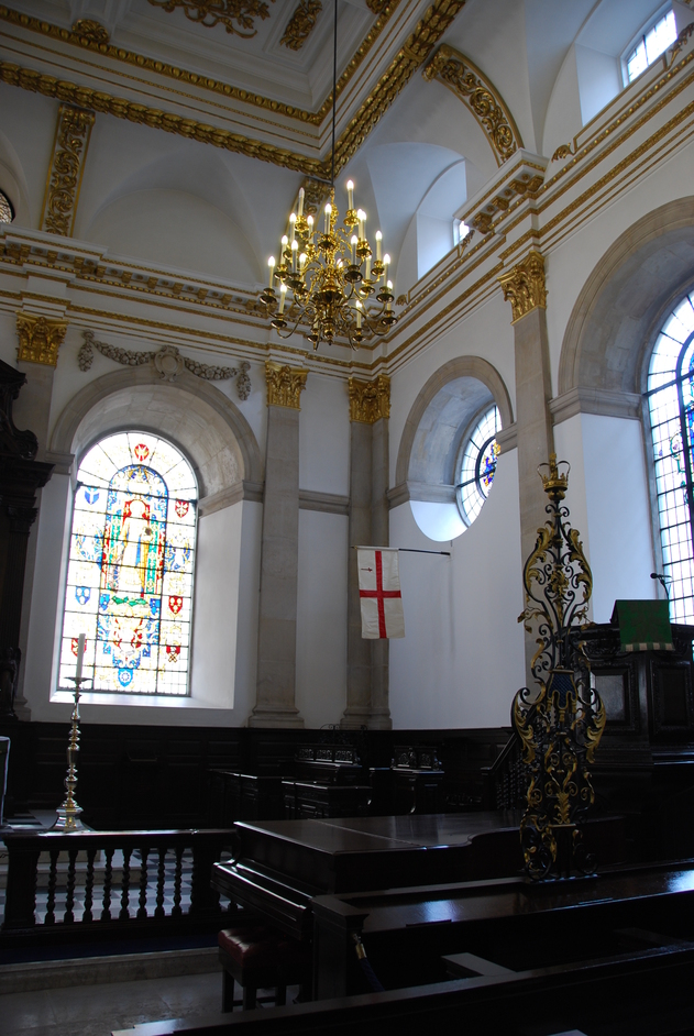 King Street - St Lawrence Jewry Interior