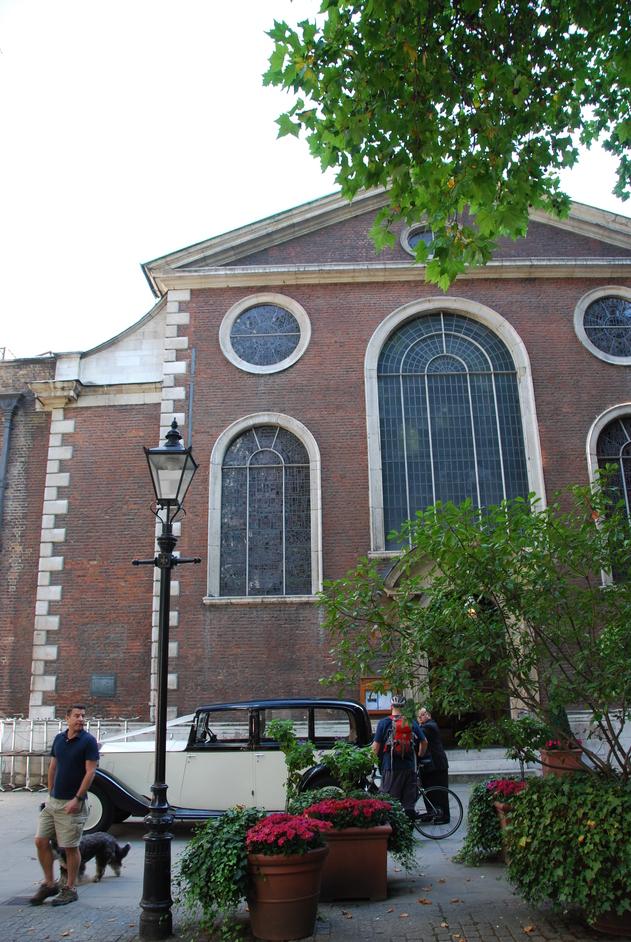 St Mary-Le-Bow Church - St Mary Le Bow Exterior