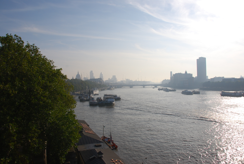 Waterloo Bridge - View From Waterloo Bridge