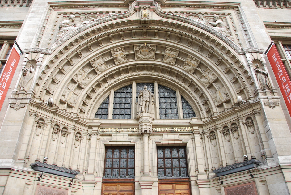 Victoria and Albert (V & A) Museum - V&A Main Entrance