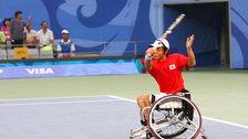 London Olympics Test Event: Wheelchair Tennis