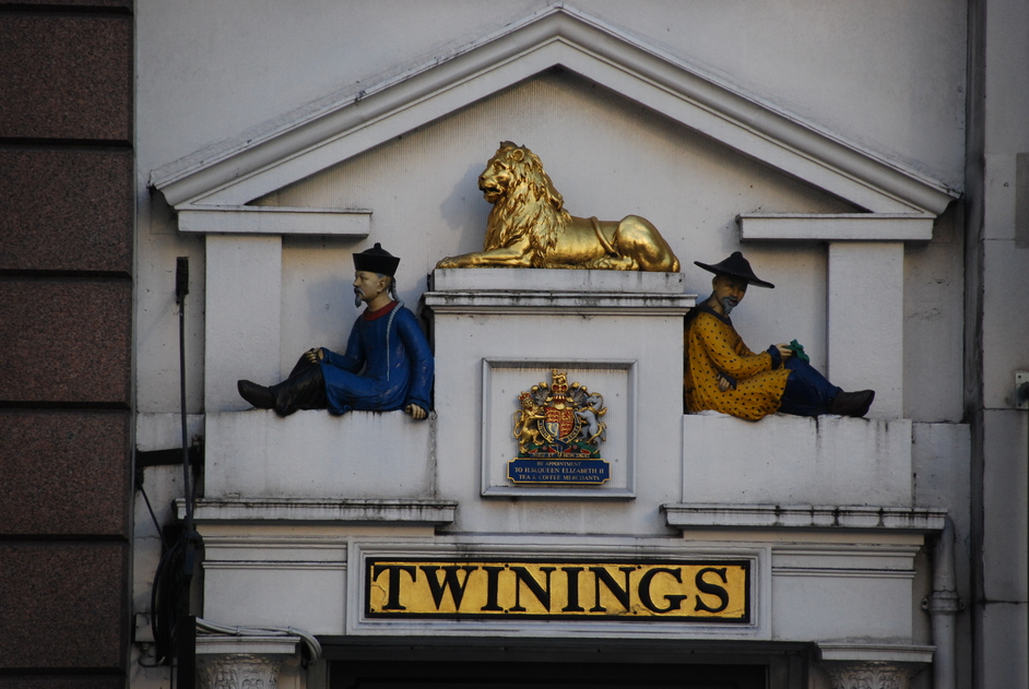 Twinings - Twinings Shop Entrance