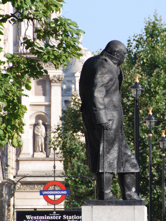 Parliament Square - Winston Churchill Statue