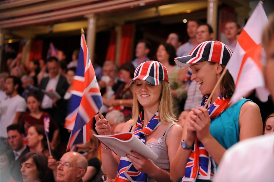 Last Night of the Proms 2014 - photo by Chris Christodoulou/BBC