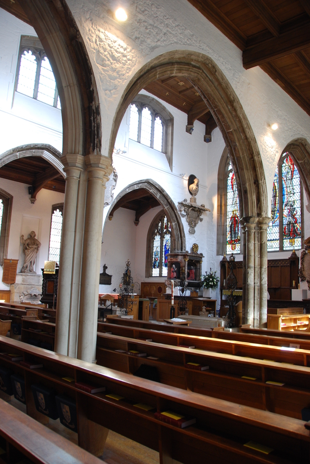 New London Street - Interior Of St Olave's Church
