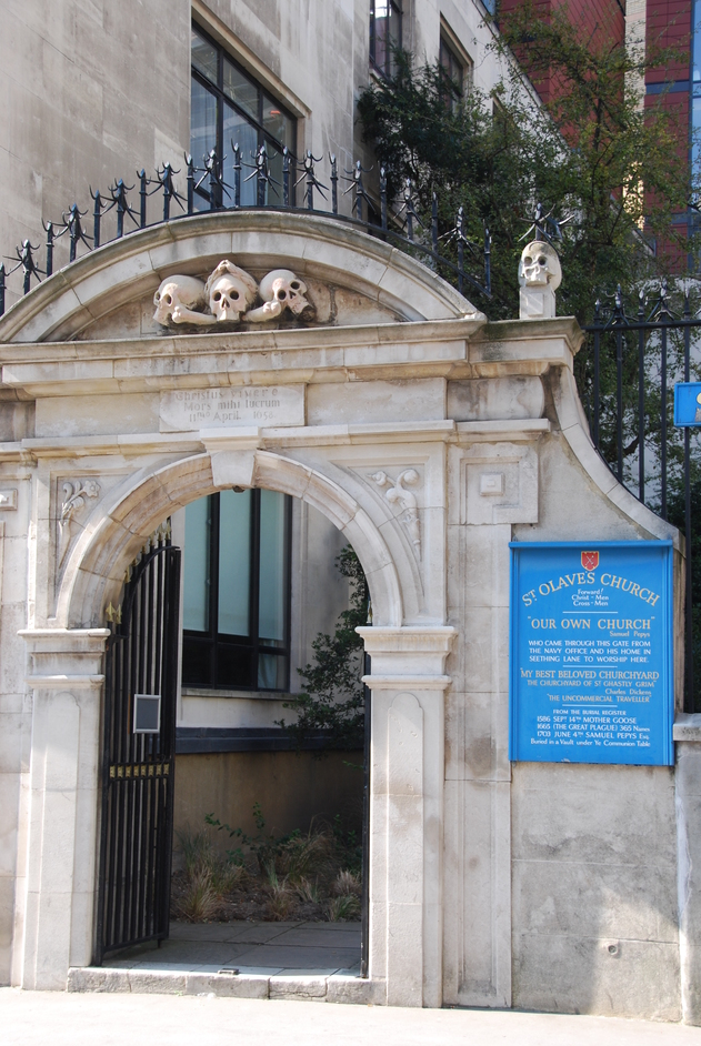 New London Street - St Olave's Gateway