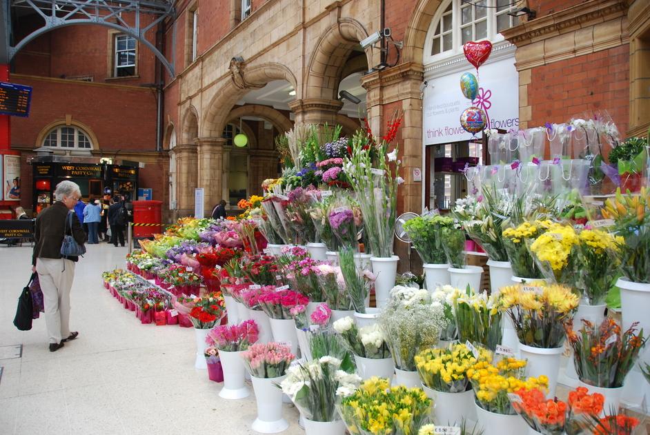Marylebone Railway Station - Interior Of Marylebone Train Station