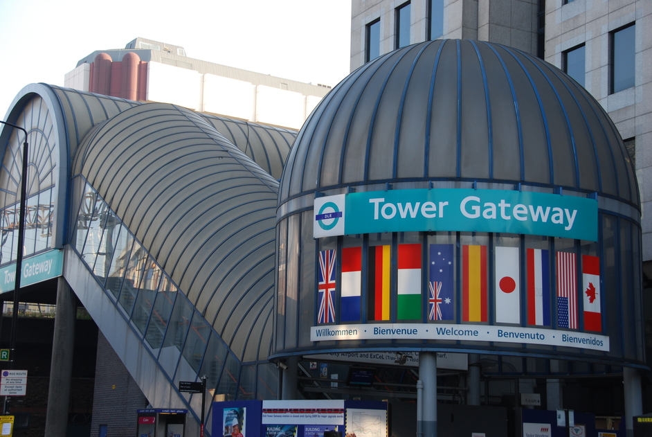 Docklands Light Railway - Tower Gateway Station
