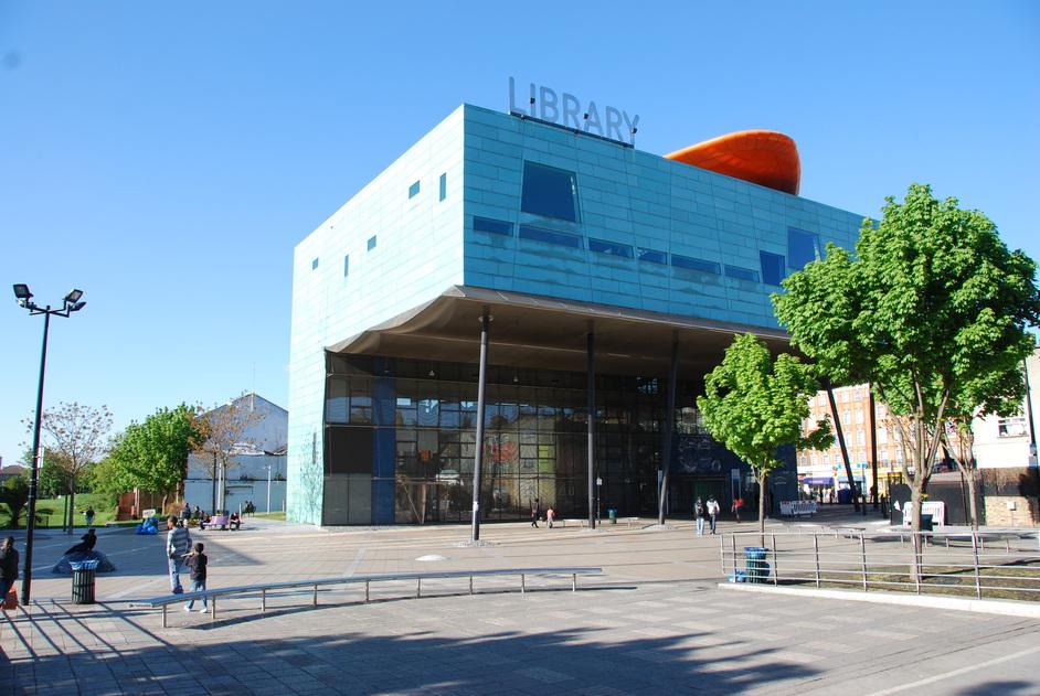 Peckham Library - Peckham Libaray Exterior