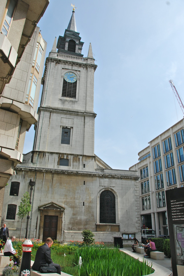 Gresham Street - St Lawremce Jewry Exterior