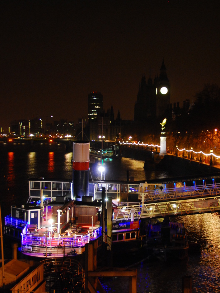 Tattershall Castle - View Of The Tattershall Castle At Night