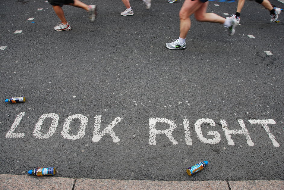 Blackheath Common - The London Marathon At Blackheath