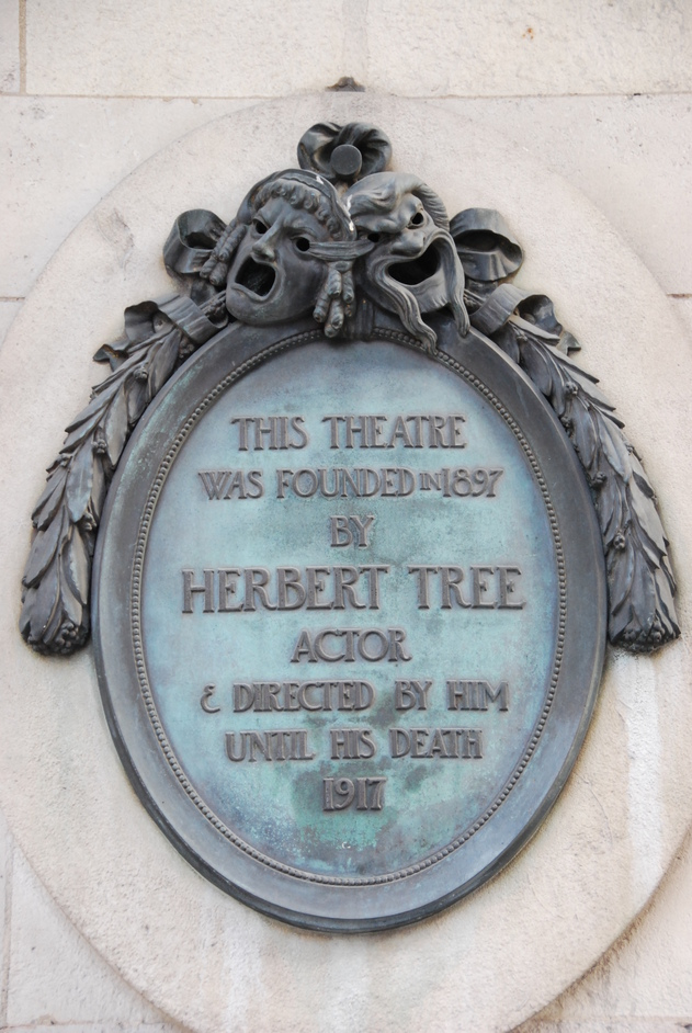 Her Majesty's Theatre - Her Majesty's Theatre Herbert Tree Plaque