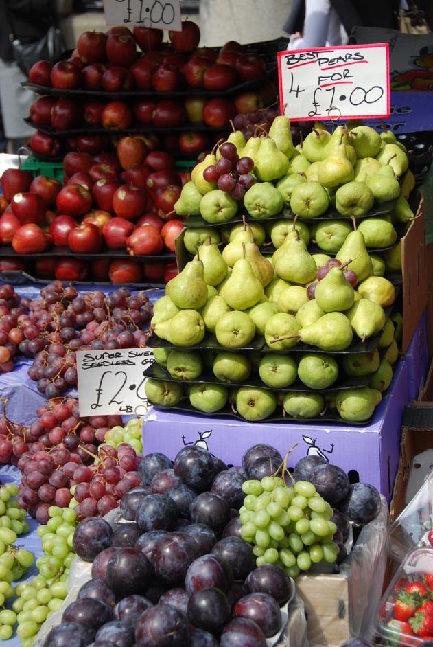 Covent Garden - Covent Garaden Fruit Stall