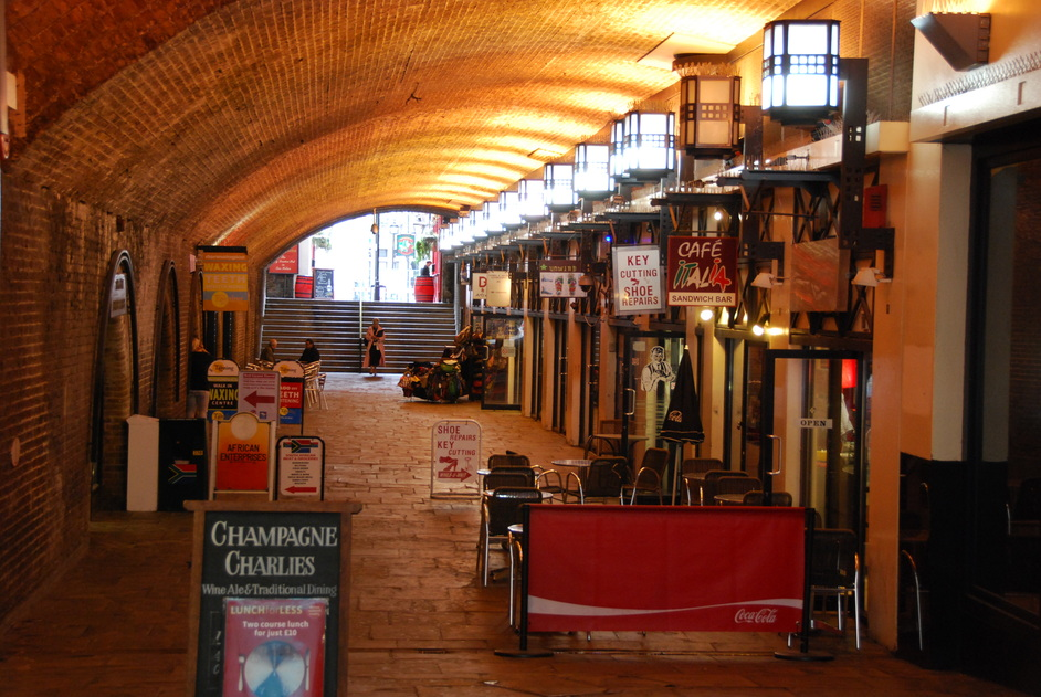 Charing Cross Theatre - Entrace To The Theatre Through The Arches