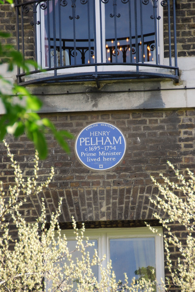 Green Park - Henry Pelham Plaque