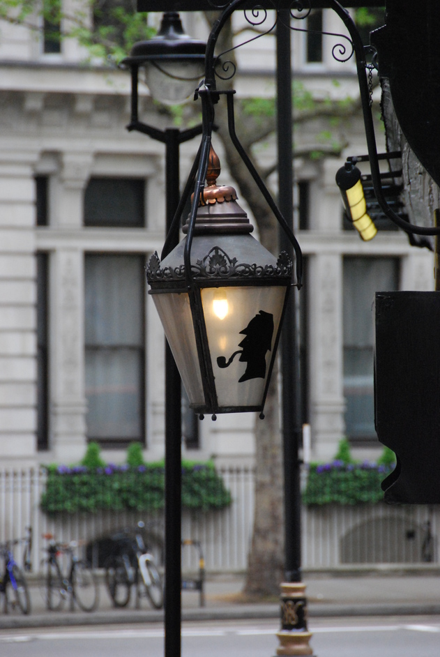 The Sherlock Holmes - The Sherlock Holmes Pub Lantern