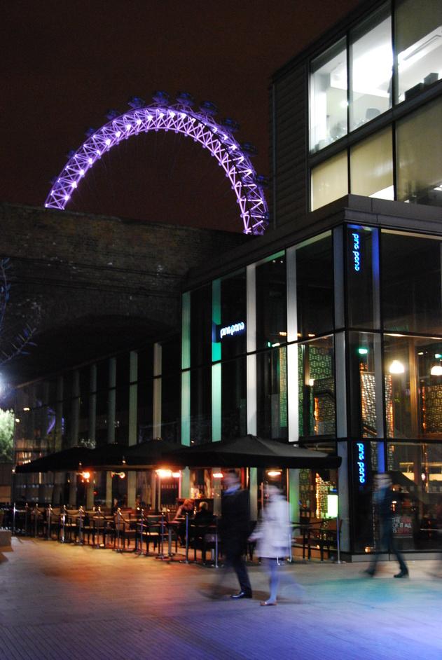 Southbank Centre: Royal Festival Hall - Ping Pong Exterior